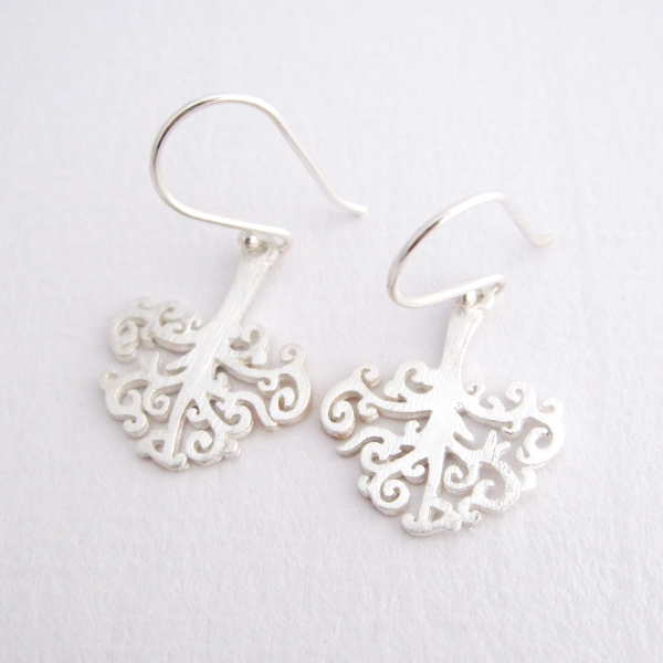 Into The Earth - Sterling Silver Earrings