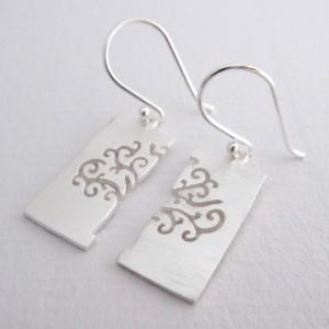 Reflections - Sterling Silver Earrings