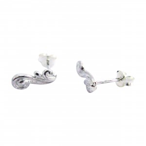 Cumulus - Sterling Silver Stud Earrings