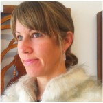 The gorgeous Heather from Add Character wearing One Day Soone 'Reflections' earrings