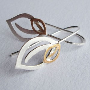 ODS-HD012_earring two leaf_2