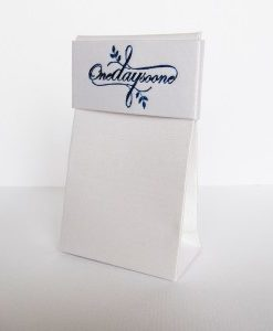 One Day Soone Satin Packaging
