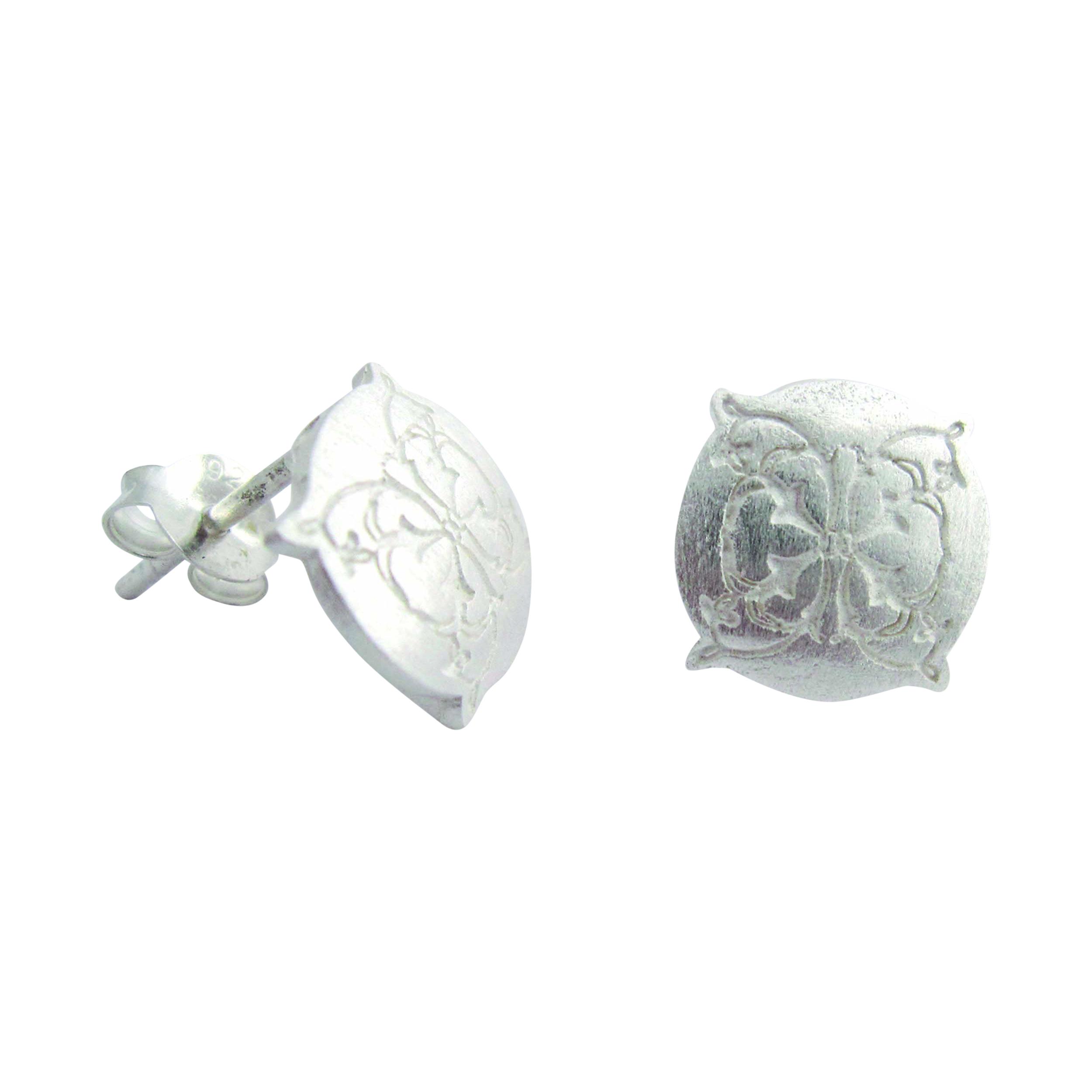 Bloom - Sterling Silver Stud Earrings