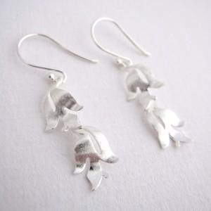 Flora - Sterling Silver Earrings
