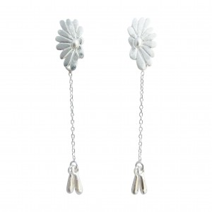 Bellis - Sterling Silver Earrings