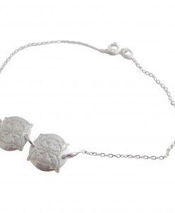 Forget-Me-Not - Sterling Silver Bracelet