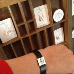 The fabulous One Day Soone display at the Gathering Space and Lisa'a favourite 'Branching Out' bracelet