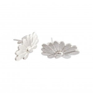 Daisy - Sterling Silver Stud Earrings