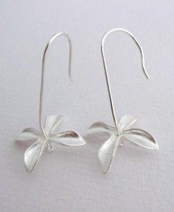 Jasmine - Sterling Silver Earrings