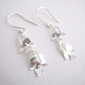 Flora - Sterling Silver Earrings