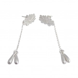 Bellis - Sterling Silver Earrings