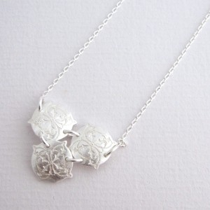 Posy - Sterling Silver Pendant