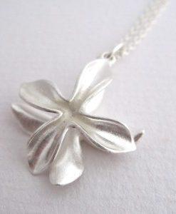 Ixora - Sterling Silver Pendant